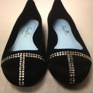 NEW in box Tracy Reese Satin Flats